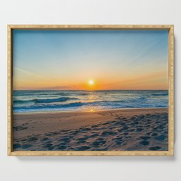 Canaveral National Seashore Sunrise Serving Tray