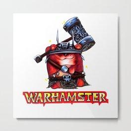 Warhamster Metal Print