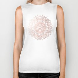 Pleasure Rose Gold Biker Tank