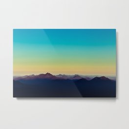 Mountain Air Metal Print