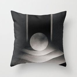 The beyond Throw Pillow