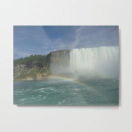 Rainbows of Niagara Falls Metal Print