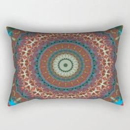 Basal Color Mandala 9 Rectangular Pillow