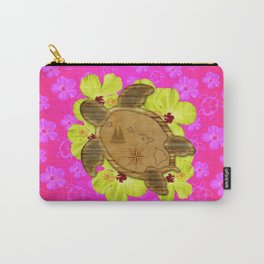 Honu Hawaiian Nautical Map Carry-All Pouch