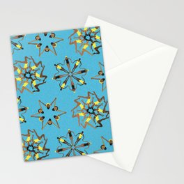 Synchronized Swimming Stationery Cards