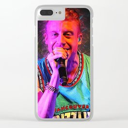 Macklemore Clear iPhone Case