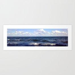 Wave Lake Art Print