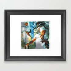 Prayer Tree / Haiti Framed Art Print