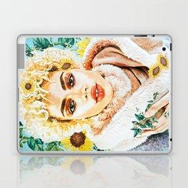 Miss Sunflower Laptop & iPad Skin