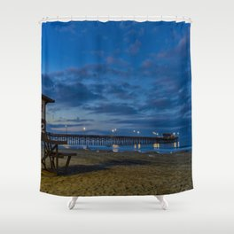 Dawn at Tower 22 Shower Curtain