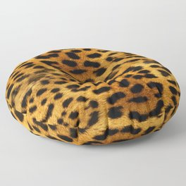 leopard pattern Floor Pillow