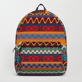 African pattern No4 Backpack