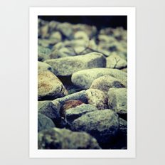 You Are My Rock. Art Print