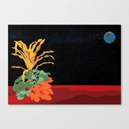 Three Sisters On Mars Canvas Print