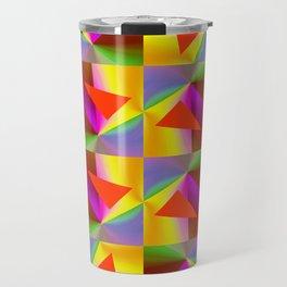 Geometric Lux QR Travel Mug