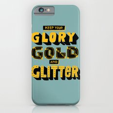 Glory, Gold, Glitter iPhone 6s Slim Case