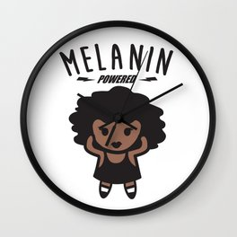 Melanin Powered Wall Clock