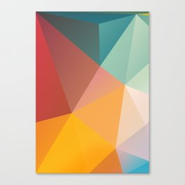 Geometric XXIX Canvas Print