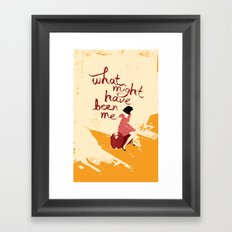 What Might Have Been Me Framed Art Print