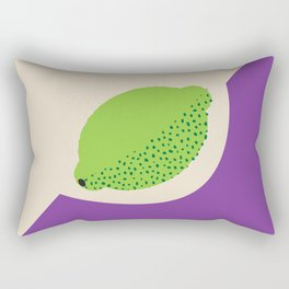 Fruitbowl, Lime Rectangular Pillow