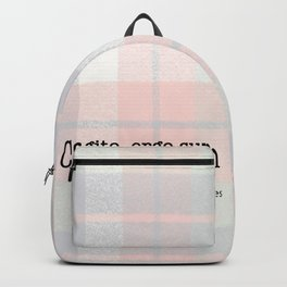 I Think Therefore I Am (Latin) Backpack