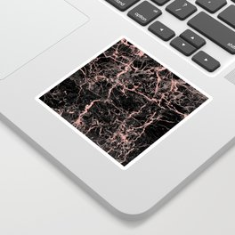 Marble Rose Gold - Someone Sticker