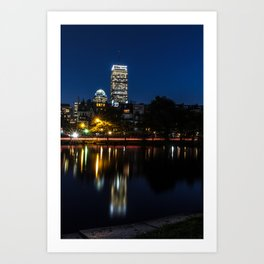 Reflections of Boston Art Print