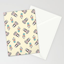 Cup Pattern 1 Stationery Cards