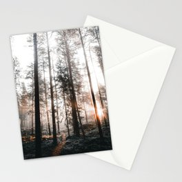 High tree forest  Stationery Cards