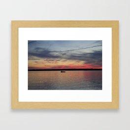 Thousand Islands Sunset Framed Art Print