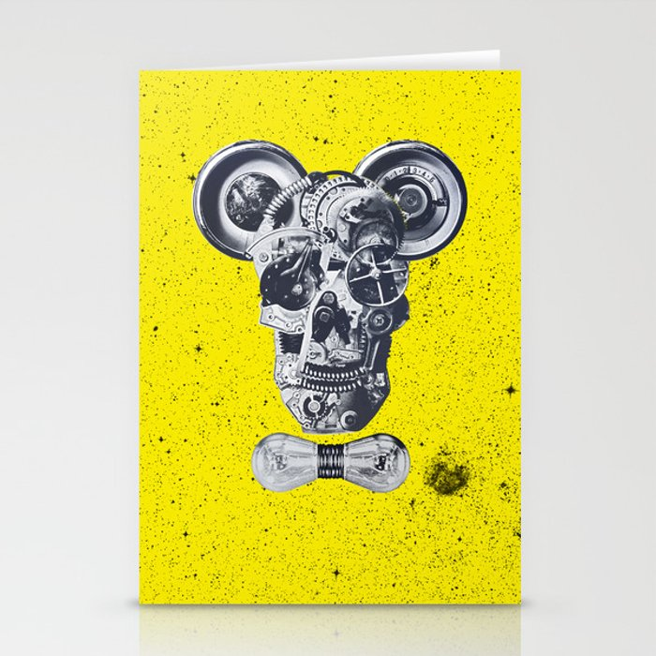 mechanics Stationery Cards