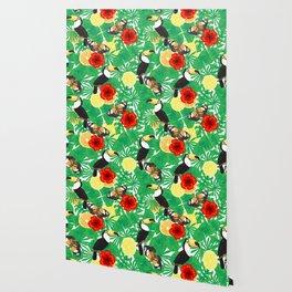 Tropical garden Wallpaper