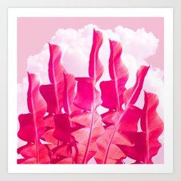Candyfloss Sky Art Print