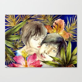 Boys in The Tropical Mood  Canvas Print