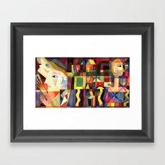 Apparitions  Framed Art Print