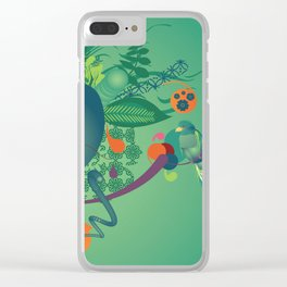 Tropicalia Clear iPhone Case