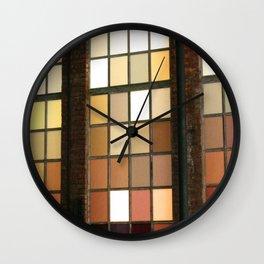 Window Worship Wall Clock