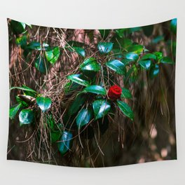 The Red We Want is the Red We've Got Wall Tapestry