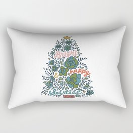 Bright and Happy Solstice Rectangular Pillow