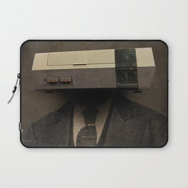 Faces of the Past: Console Laptop Sleeve