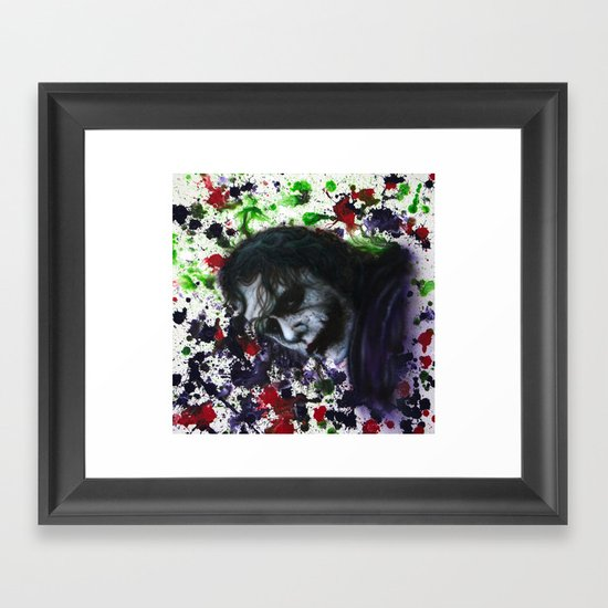 Colour Chaos Framed Art Print