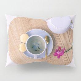 Earl Grey british tea cup with teapot Pillow Sham