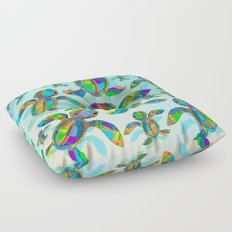 Baby Sea Turtle Fabric Toy Floor Pillow
