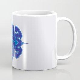Abstract Typo Coffee Mug
