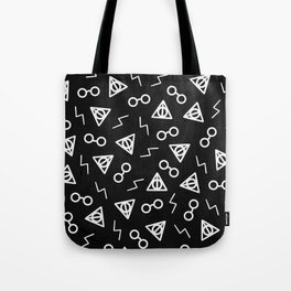 The Chosen One II (Black) Tote Bag