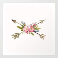 Sweet Arrows Art Print