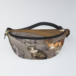 The Boy who drew Cats Fanny Pack