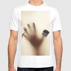 Handy hand Mens Fitted Tee White MEDIUM