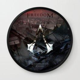 Assassin's Creed 3: Connor, Master Assassin of the American Revolutionary War Wall Clock