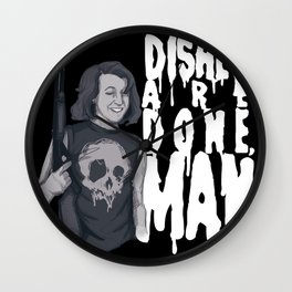 Dishes Are Done Wall Clock